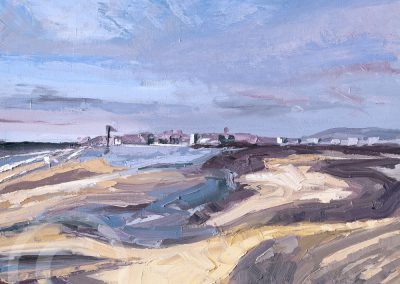 A_Bright_and_Windy_Day_on_Ainsdale by Chris Mcloughlin