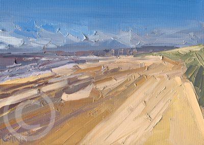 En Plein Air Painting of Distant Dreams by Chris Mcloughlin