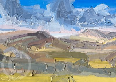 Study_for_Longridge_and_Parlick by Chris Mcloughlin