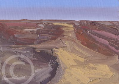 Available_Paintings_A_Sandy_Highway_by_Chris_Mcloughlin-Small works Project
