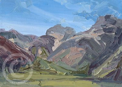 Study_for_Langdale_Pikes by Chris Mcloughlin