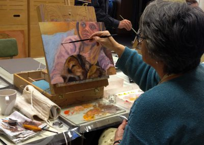 Oil-Painting-Class-Portrait-Painting